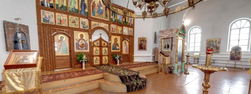 Храм в честь Казанской иконы Божией Матери, 1902 г., с. Калиновка