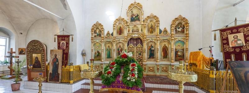 Храм в честь Михаила Архангела, Русская Селитьба
