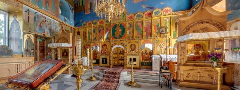 Храм в честь Казанской иконы Божией Матери, 1795 г., с. Новый Буян