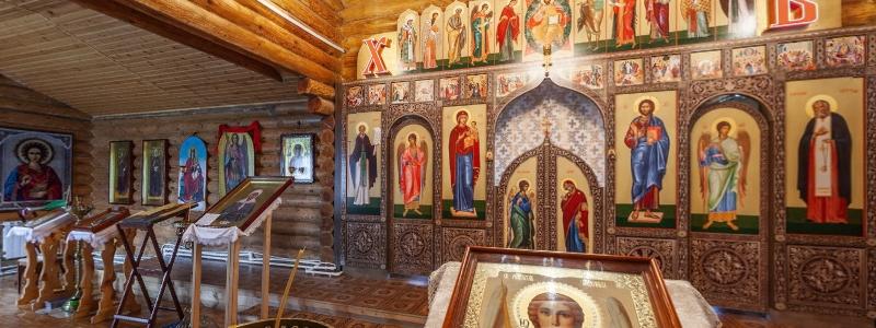 Храм в честь Михаила Архангела, Большая Каменка (Волжский)