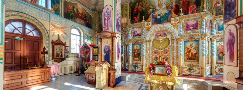 Храм в честь бессеребрянников Косьмы и Дамиана, Новосемейкино