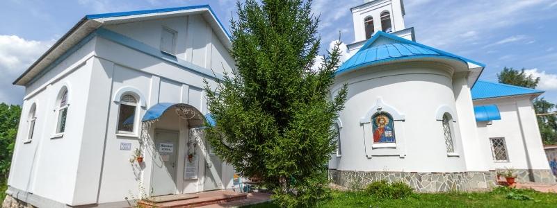 Святой источник в честь иконы Божией Матери «Неупиваемая Чаша», пгт Волжский